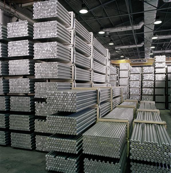 Produzione Semilavorati In Alluminio Estrusi Lega Di